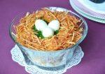 Гнездо глухаря рецепт с фото пошагово с капустой – Салат гнездо глухаря рецепт с капустой свежей