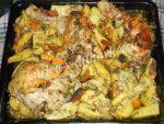 Картошка в духовке с майонезом и чесноком рецепт с фото с мясом – Картошка с мясом в духовке с майонезом