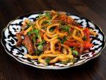 Лагман жареный рецепт цомян – Цомян жареный лагман рецепт с фото