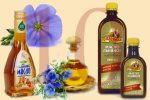 От чего пьют льняное масло – : ,