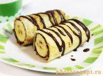 Блины с бананом рецепт с пошаговым фото – 7 . ?