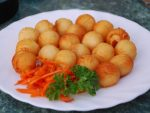 Из картофельного пюре шарики в духовке – Картофельные шарики в духовке рецепт с фото 🍓