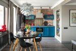 Кухни в стиле фьюжн – 30 ориганальных фото интерьеров + секреты дизайна