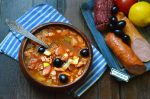 Приготовить солянку с колбасой – Солянка с колбасой, пошаговый рецепт с фото