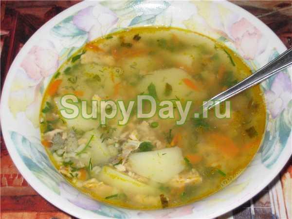 Суп с консервой сайры видео
